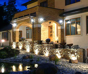 Светодиодные светильники уличные под навес
